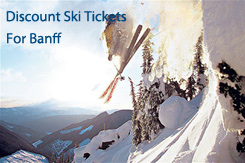banff discount ski tickets and by owner rentals